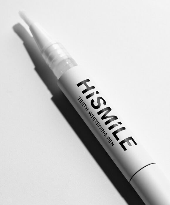 A Teeth Whitening Pen such as HiSmiles is a fantastic way to whiten on the go and get those hard to reach places.