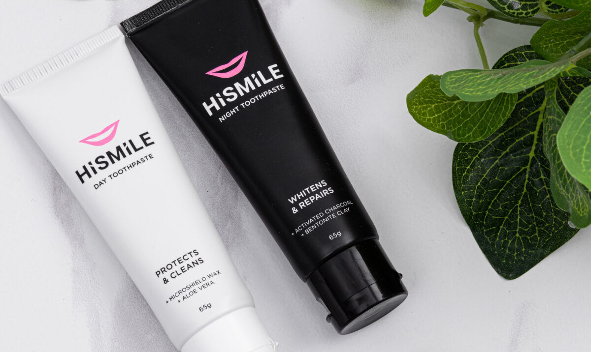 HiSmile's Day and Night toothpaste is perfect as part of your daily routine!