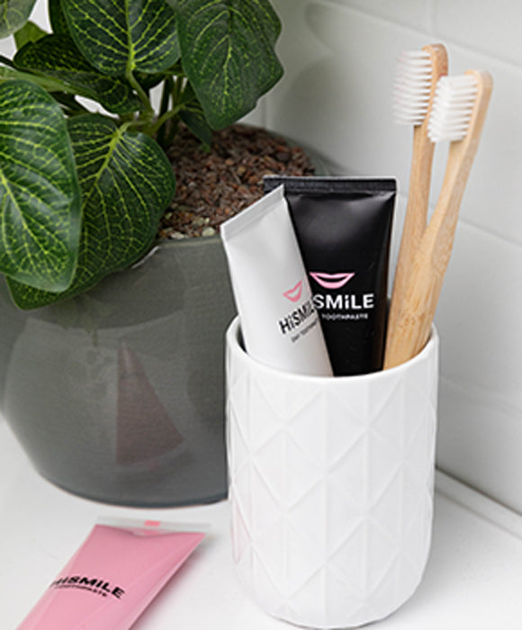 recyclable bambo toothbrushes enable you to change your toothbrush more frequently.