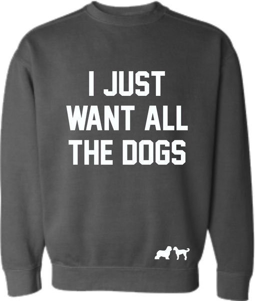 All the Dogs Sweatshirt