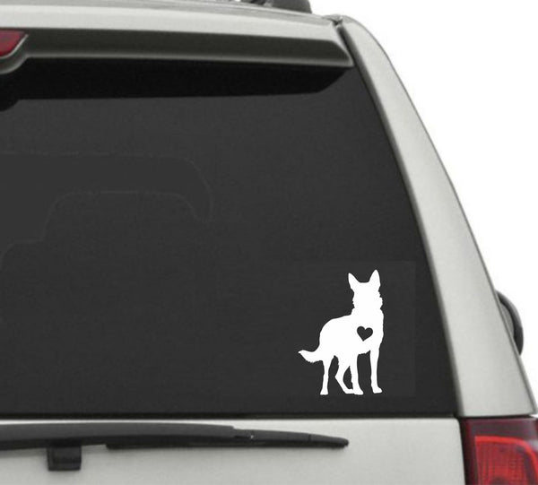 German Shephard Decal