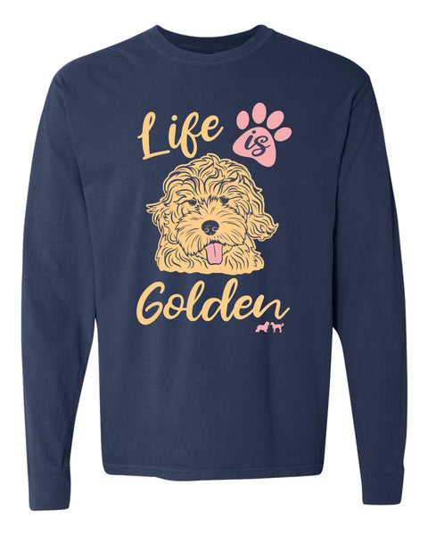 Life is Golden Longsleeve Tee
