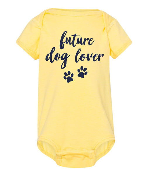 Future Dog Lover Baby Onesie