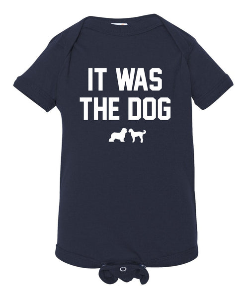It was the Dog Baby Onesie
