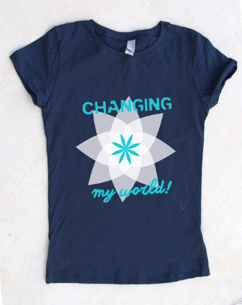 Changing My World T-Shirt **Free Shipping**