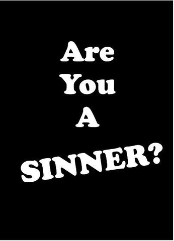 Are You A Sinner? - Verity & Charity Publications