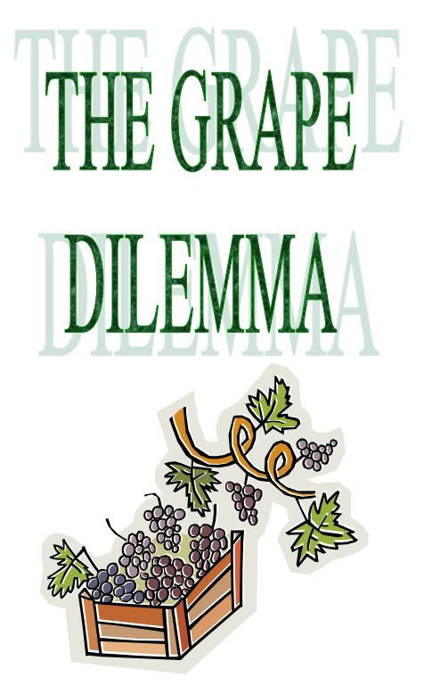 Grape Dilemma - Wine Festival Tract - Verity & Charity Publications
