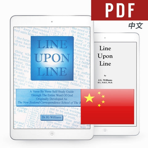 Line Upon Line - Chinese eBook - Verity & Charity Publications