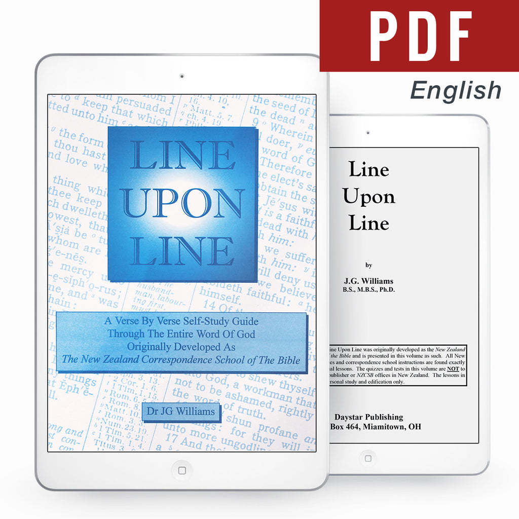 Line Upon Line - English eBook - Verity & Charity Publications