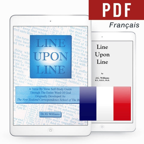 Line Upon Line - French eBook - Verity & Charity Publications