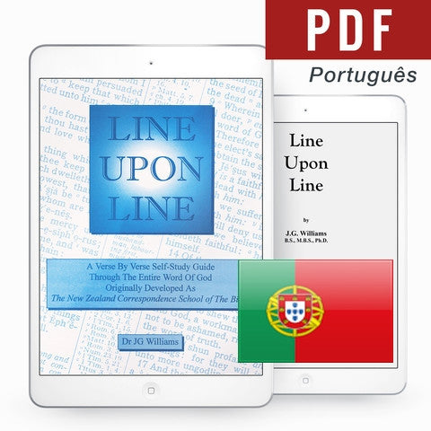 Line Upon Line - Portuguese eBook - Verity & Charity Publications