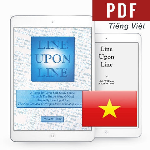 Line Upon Line - Vietnamese eBook - Verity & Charity Publications
