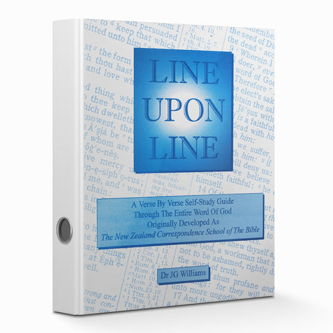 Line Upon Line - Binder  FREE SHIPPING in USA - Verity & Charity Publications
