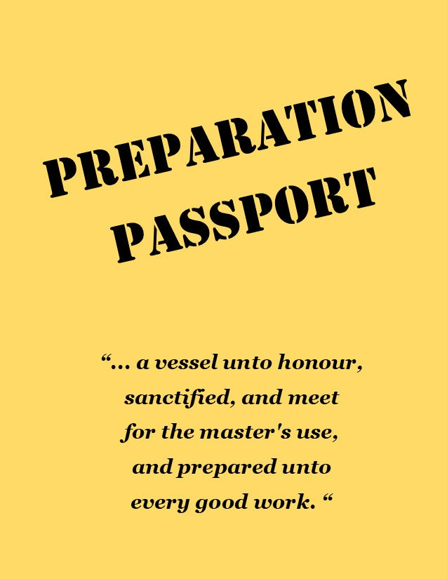 Preparation Passport