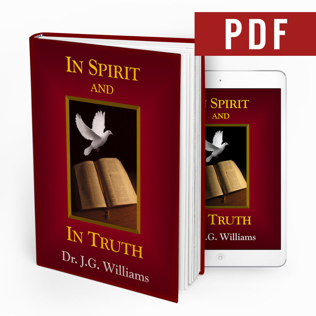 In Spirit and In Truth - Ebook - Verity & Charity Publications
