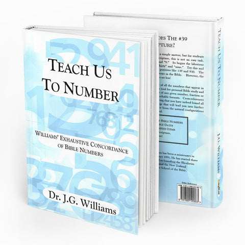 Teach Us To Number - Verity & Charity Publications