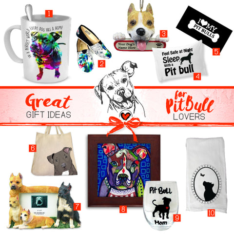 Great Gift Ideas for Pit Bull Lovers