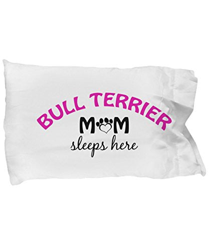Bull Terrier Mom and Dad Pillow Cases