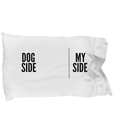 Dog Side My Side Pillow Case - Dog lover gifts