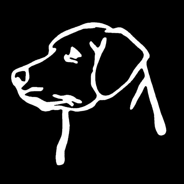 Labrador decal - Dogs Make Me Happy