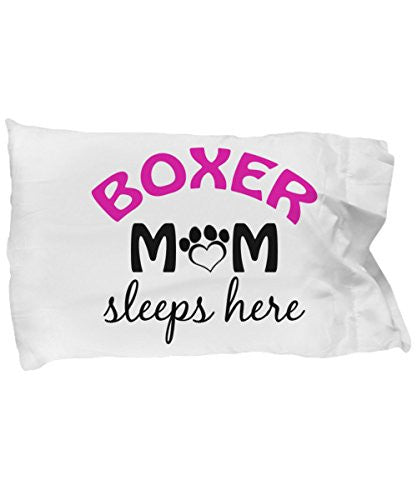 Boxer Mom and Dad Pillow Cases