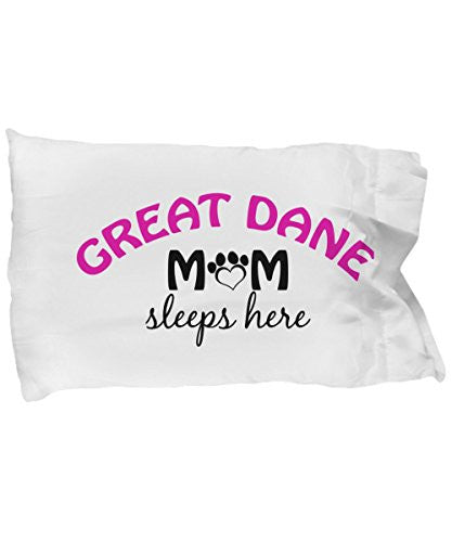 Great Dane Mom and Dad Pillow Cases