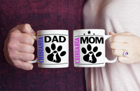 Chihuahua Couple Mug Set (2 mugs) - Dogs Make Me Happy - 1