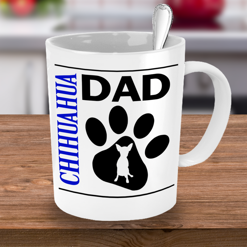 Chihuahua Couple Mug Set (2 mugs) - Dogs Make Me Happy - 2