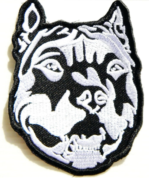 Pit Bull patch - Dogs Make Me Happy