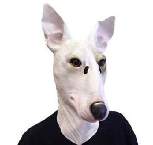 Pit Bull mask - Dogs Make Me Happy