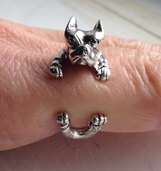 Pit Bull wrap ring - Dogs Make Me Happy - 1