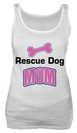 Rescue dog mom shirt - Dogs Make Me Happy - 2