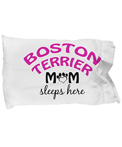 Boston Terrier Mom and Dad Pillow Cases