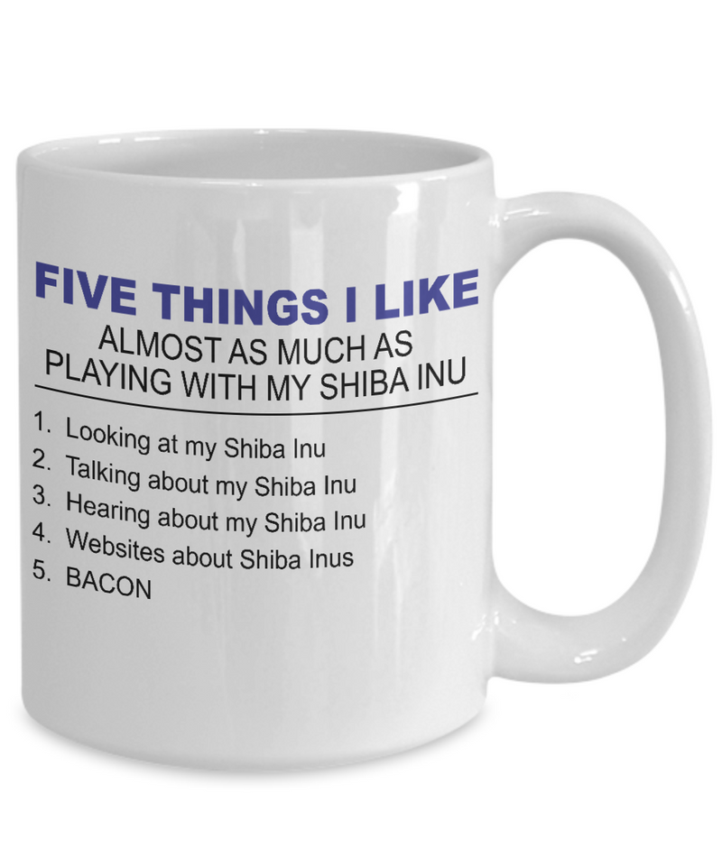 Five Thing I Like About My Shiba Inu - Dogs Make Me Happy - 4