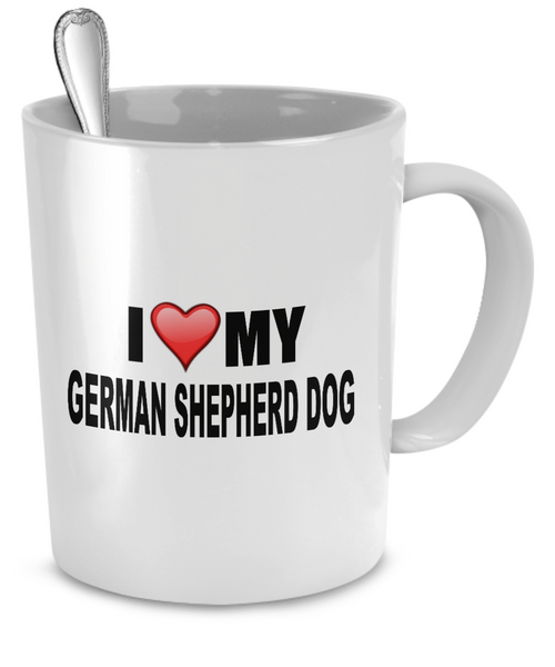 I Love My German Shepherd Dog - Dogs Make Me Happy - 2