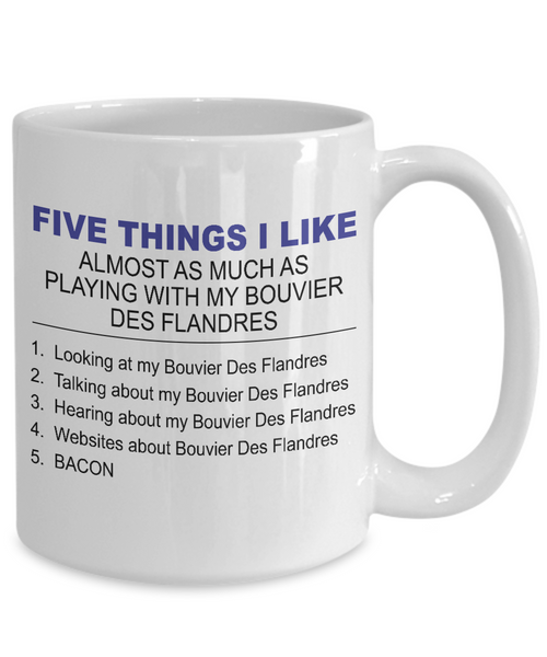 Five Thing I Like About My Bouvier Des Flandres - Dogs Make Me Happy - 4