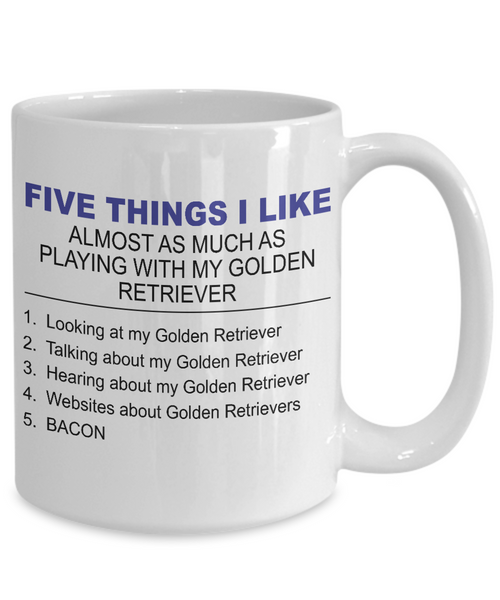 Five Thing I Like About My Golden Retriever - Dogs Make Me Happy - 4