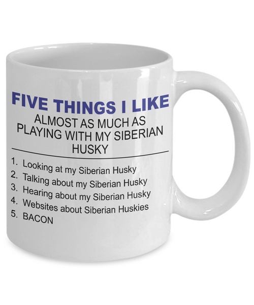 Five Thing I Like About My Siberian Husky - Dogs Make Me Happy - 2