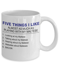 Five Thing I Like About My Maltese - Dogs Make Me Happy - 2