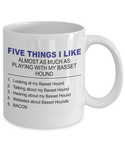 Five Thing I Like About My Basset Hound - Dogs Make Me Happy - 2
