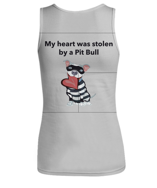 My Heart Was Stolen By A Pit Bull Tank Top