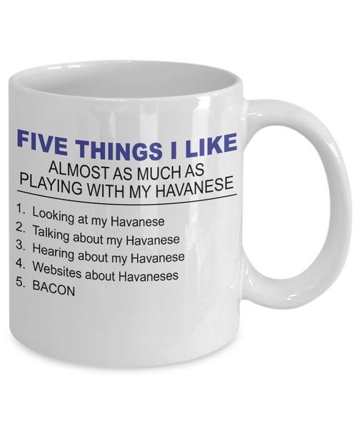 Five Thing I Like About My Havanese - Dogs Make Me Happy - 2