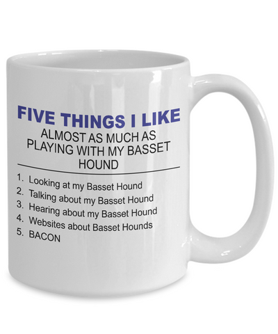 Five Thing I Like About My Basset Hound - Dogs Make Me Happy - 4