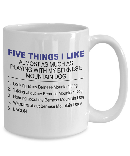 Five Thing I Like About My Bernese Mountain Dog - Dogs Make Me Happy - 4