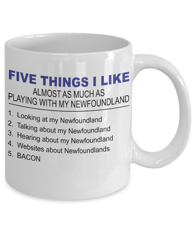 Five Thing I Like About My Newfoundland - Dogs Make Me Happy - 2