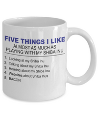 Five Thing I Like About My Shiba Inu - Dogs Make Me Happy - 2