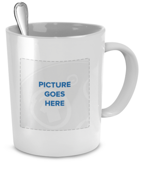 Personalized mug with picture of your dog - Dogs Make Me Happy - 3