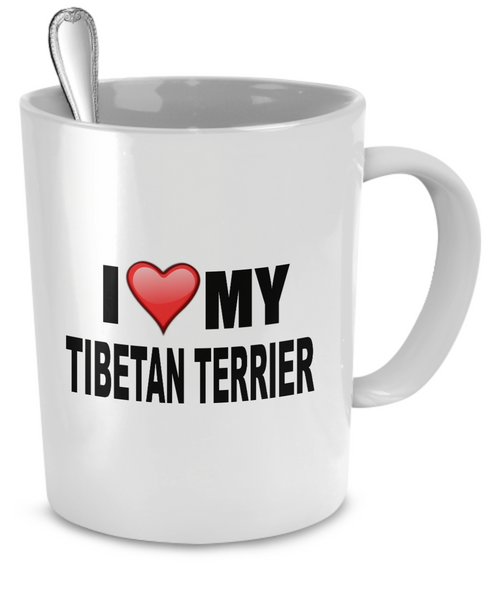 I Love My Tibetan Terrier - Dogs Make Me Happy - 2