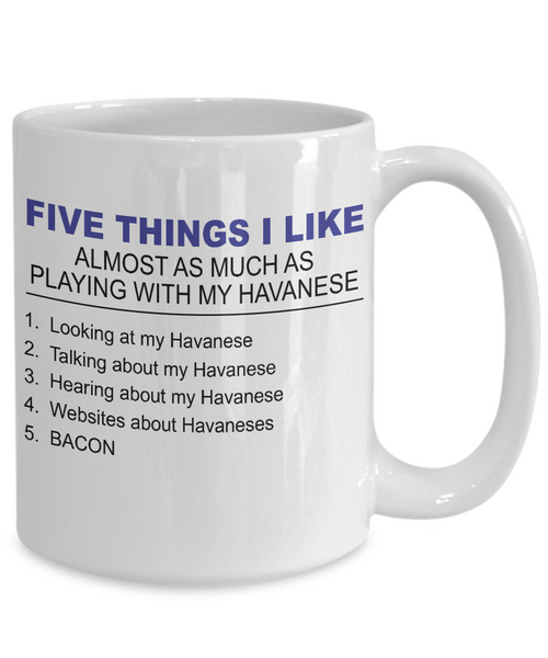 Five Thing I Like About My Havanese - Dogs Make Me Happy - 4