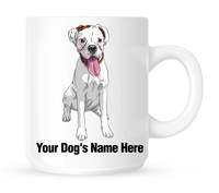 Personalized mug for your boxer - Dogs Make Me Happy